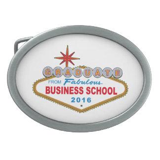 Graduate From Fabulous Business School 2016 (Vegas Oval Belt Buckle