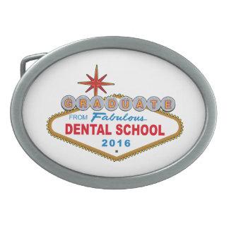 Graduate From Fabulous Dental School 2016 (Vegas) Oval Belt Buckle