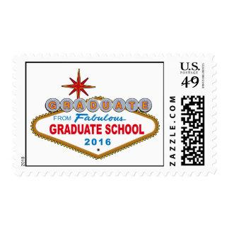 Graduate From Fabulous Graduate School 2016 (Vegas Postage