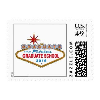 Graduate From Fabulous Graduate School 2016 (Vegas Stamp