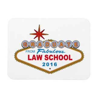 Graduate From Fabulous Law School 2016 Vegas Sign Rectangular Photo Magnet