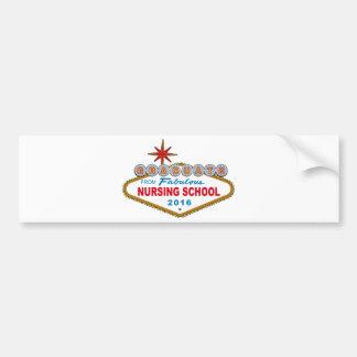 Graduate From Fabulous Nursing School 2016 (Vegas) Bumper Sticker
