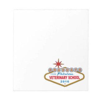 Graduate From Fabulous Veterinary School 2016 Notepad