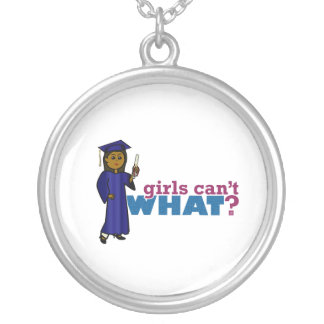 Graduate Girl in Blue Gown Jewelry