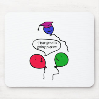 Graduate Going Places Mouse Pad