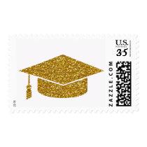 graduate gold postage