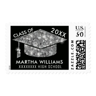 graduate / graduation academic class of, chic postage