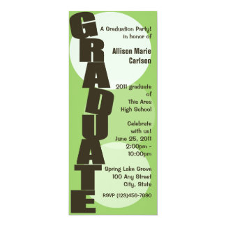 Graduate/ Graduation Announcement