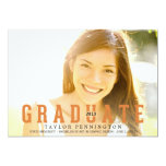 GRADUATE Graduation Announcement Personalized Invites