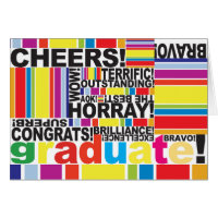Graduate Graduation Congratulations Grad card