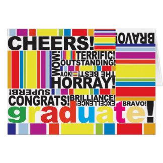 Graduate Graduation Congratulations Grad card