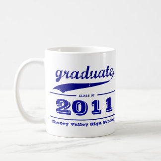 Graduate Grunge Mug - Customize Class of
