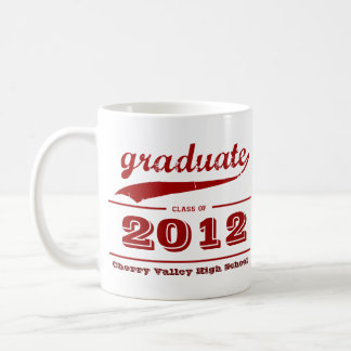 Graduate Grunge Mug - Customize Class of