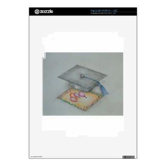 graduate invitation decal for the iPad 2