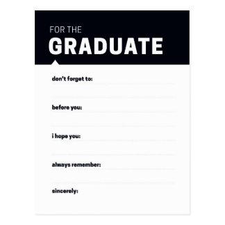 Graduate Keepsake   Advice Cards