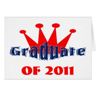 Graduate King Greeting Cards