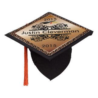 Graduate | Leopard Animal Print | Personalize Graduation Cap Topper