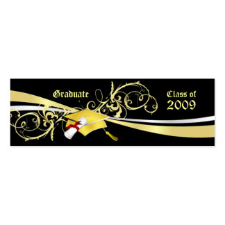 Graduate Name Cards Double-Sided Mini Business Cards (Pack Of 20)