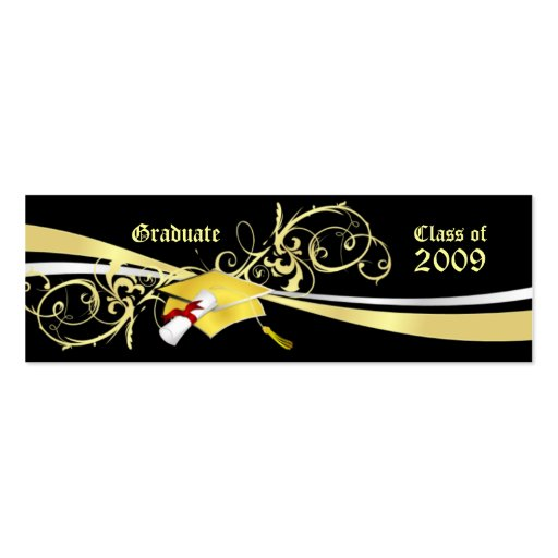 Graduate Name Cards Double-Sided Mini Business Cards (Pack ...