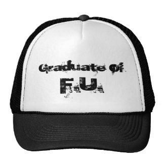 Graduate Of F U Mesh Hats