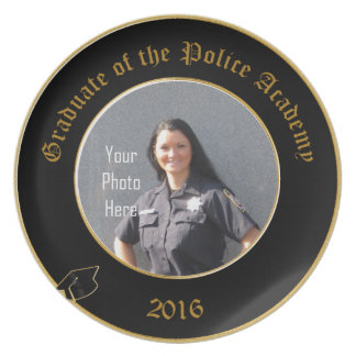 Graduate of the Police Academy 2016 Plate