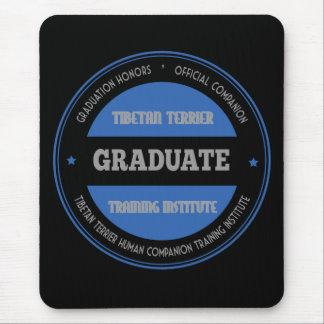 Graduate of Tibetan Terrier Training Institute Mouse Pad