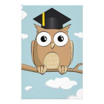 Graduate Owl Stationery