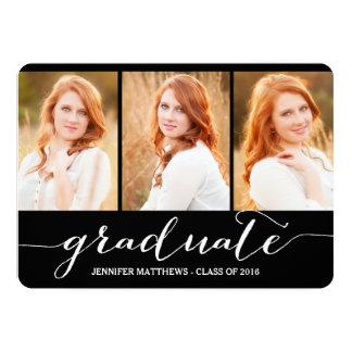 Graduate Photo Collage   Graduation Party Card