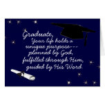 Graduate Planned by God Greeting Card