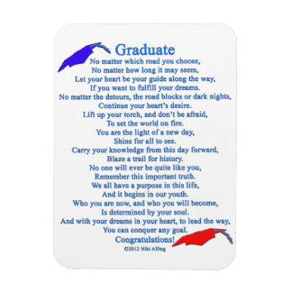 Graduate Poem Magnet