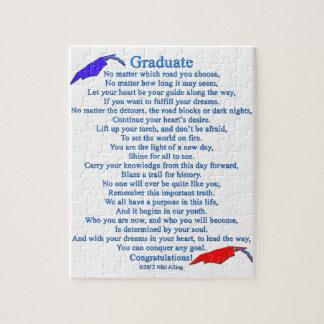 Graduate Poem Puzzle