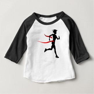 Graduate Race Finish Line Education Concept Baby T-Shirt