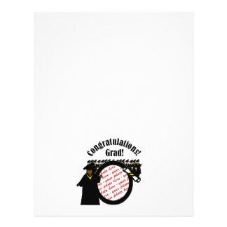 Graduate Receiving Diploma (1) Photo Frame Flyer