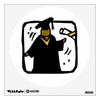 Graduate Receiving Diploma (1) Wall Graphics
