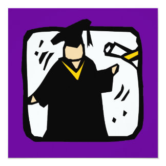 Graduate Receiving Diploma (2) Card