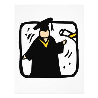 Graduate Receiving Diploma (2) Flyer