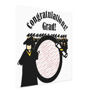 Graduate Receiving Diploma (2) Photo Frame Canvas Print
