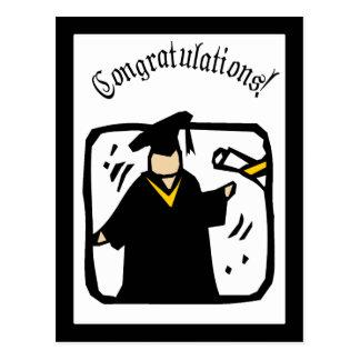 Graduate Receiving Diploma (2) Postcard