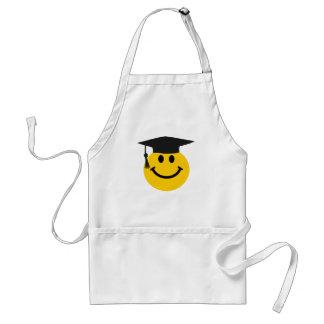 Graduate smiley face apron