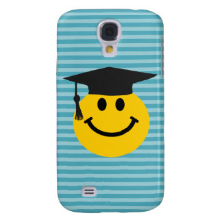 Graduate smiley face galaxy s4 covers