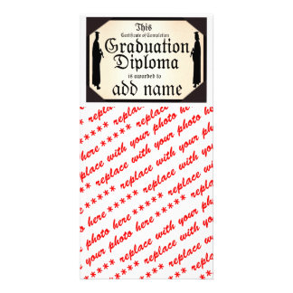 Graduate Standing Tall Diploma Card