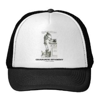 Graduate Student (Skeleton) Trucker Hat