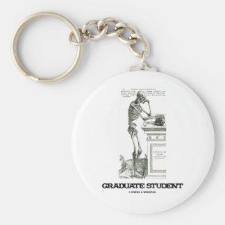Graduate Student (Skeleton) Key Chains