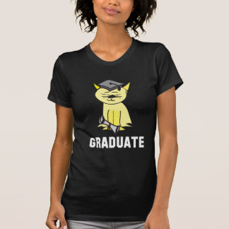 Graduate T-shirt for Cat Lovers