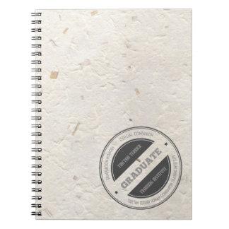 Graduate Tibetan Terrier Training Institute Black Notebook