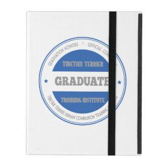 Graduate Tibetan Terrier Training Institute Blue iPad Cover