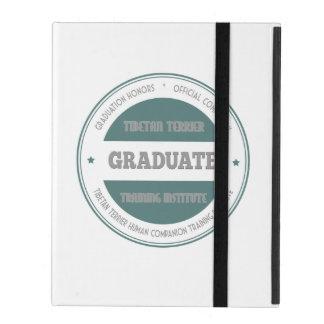 Graduate Tibetan Terrier Training Institute Green iPad Folio Case