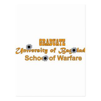 Graduate-University of Baghdad-School of Warfare Postcard