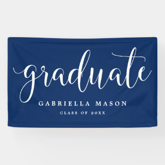 Banner for Graduation