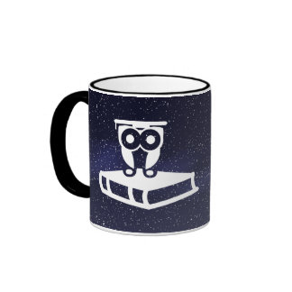Graduate Yearbooks Pictograph Ringer Coffee Mug